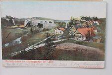 26887 AK Karba Brücke im Höllengrund bei Leipe Sudeten Böhmen 1906