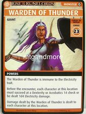 Pathfinder Adventure Card Game - 1x Warden of Thunder - Spires of Xin Shalast
