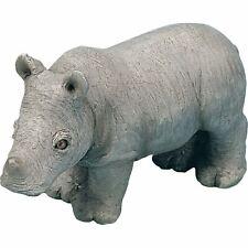 "Sandicast ""Small Size"" Rhinoceros Sculpture"