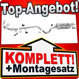 Auspuff für VW BORA / VW GOLF 4 IV Variant 1.9 TDI +Rohr Auspuffanlage