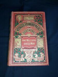 Jules Verne Vingt Mille Lieues Sous Les Mers Hetzel 1917