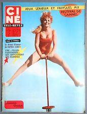 ►CINE REVUE 20/1962-FRANCOISE DELDICK-ROMY SCHNEIDER-MARILYN MONROE-ELVIS PRESLE