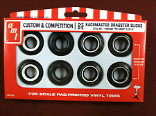 M&H Drag Slick Tire Pack 1:25 Scale AMTPP001