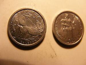 New Caledonia 50 Centimes, 1949, Choice BU