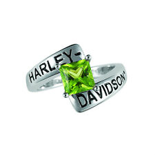 Harley-Davidson® August Birthstone Ring - Peridot - size 5  D4J8827