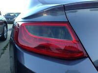 PreCut Vinyl Tint Smoke Overlays for 13-15 Accord Coupe Turn Signal Light