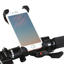 Fahrrad Handy Halterung Stoßfest Ständer Halter Für iPhone Samsung HTC SCHWARZ