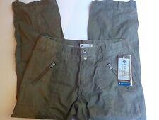 Yours Clothing Taglie Forti Da Donna Neri Pull On Gamba Larga Pantaloni Taglia 16-32