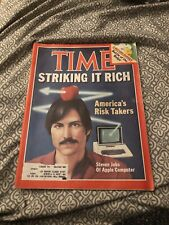 Time Magazine February 1982 Steve Jobs Apple Computer Striking it Rich