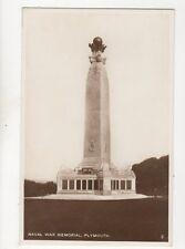 Naval War Memorial Plymouth [Ref 2] Vintage RP Postcard 163b