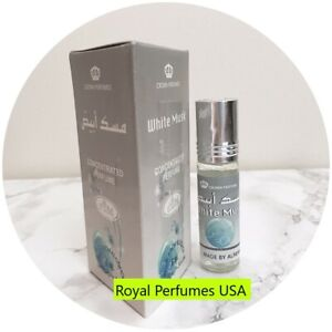 White Musk Al Rehab Authentic Arabian Concentrated Perfume Body Oil 6ML Roll-on