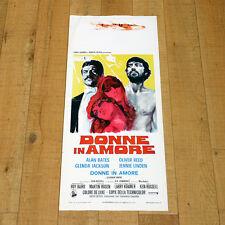 DONNE IN AMORE locandina poster Women in Love Ken Russell Glenda Jackson AA44