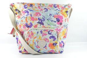 Kipling HB7267 591 Dorota Print Melted Floral Shoppers Tote Bag