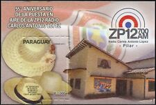 Paraguay 2018 Block 55 Jahre Radio ZP12 Carlos Antonio Lopez Postfrisch MNH