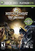 Mortal Kombat vs. DC Universe -- Platinum Hits (Microsoft Xbox 360, 2009)
