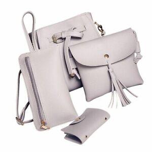 Shoulder Bag Set Women Four Fashion Handbag Tote Crossbody Wallets Bolsas Femaie