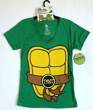 Teenage Mutant Ninja Turtles Nickelodeon Halloween Costume T Shirt Mask Combo