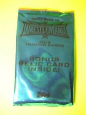 2016 TOPPS WWE ROAD TO WRESTLEMANIA RELIC HOT PACK SEALED