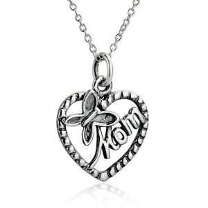 Mom Pendant Necklace Chain Gift Party Sweet Party Hot Fashion Women Butterfly