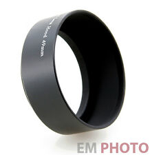52 mm Metall-Gegenlichtblende Sonnenblende Standard Lens Hood Blende  Z-0428