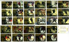 1998-99 MCDONALDS UPPER DECK ICE HOCKEY COMPLETE 28 CARD SET LOT Gretzky Roy CL