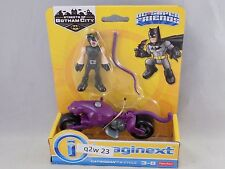 IMAGINEXT DC SuperFriends CATWOMAN & CYCLE Streets of Gotham city NIB (q2w 23)