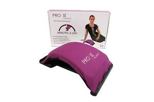 PRO 11 Back stretchIng device improves posture relieves back pain (Purple)