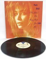 Vinyl LP Paula Abdul It's Just The Way That You Love Me Virgin 1988