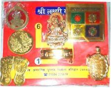 Laxmi Dhan Vridhi Puja Yantra Pendant Gomti Chakhra Coin Kachua in 1 Pack India