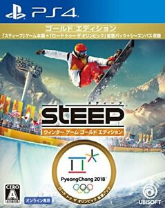 Steep winter game gold edition - PS4 Japan