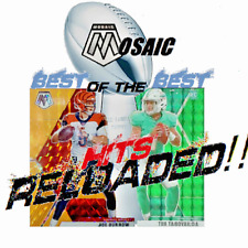 #Repack #NFL #Mosaic Hits Reloaded! Best of the Best! #Rookies #Vets
