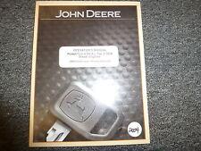 John Deere 4045 & 4068 Tier 2 Oem Diesel Engine Owner Operator Manual Omrg33324