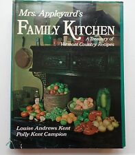 Mrs. Appleyard's Family Kitchen Collection Vermont Country Recipes c.1977  #3396