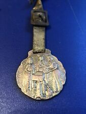 vintage antique pocket watch fob Sharpies Separator-RARE-EARLY-Shows Native Amer