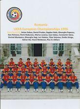 ROMANIA UEFA EURO 1996 SQUAD RARE ORIG HAND SIGNED TEAM GROUP PHOTO 19 X SIGS