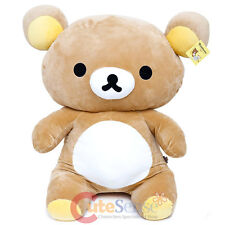 "Rilakkuma Giant Plush Doll 34"" Microfiber Over Size Soft Stuffed Toy Licensed"