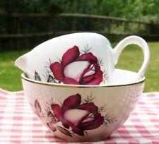Vintage jug & basin bowl Arklow pottery Autumn Rose