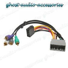 JEEP LIBERTY Activo Equipo estéreo para coche Arnés Cableado ISO adaptador GOMAS