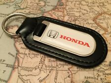 HONDA imprimé qualité véritable cuir noir Porte-clés CIVIC CR-R JAZZ NSX hr-3