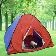 Color Pop Up Camping Hiking Tent Easy Setup Instant Kids Play House Pets Shelter