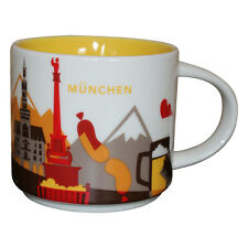 Starbucks City Mug You Are Here Colletion München Coffee Cup Munich Kaffeetasse