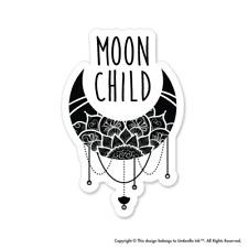 Moon Child Mandala Hippie Sticker Car Bumper Decals Scrapbooking