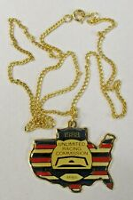 necklace 1988 U.R.C. / A.P.B.A. SEASON PASS Hydroplane boat b1