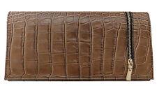Pochette in pelle stampata cocco Bottega Carele BC508taupe