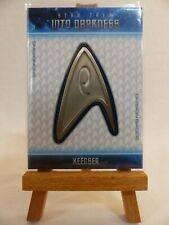 Star Trek Into Darkness relic uniform badge card B21 Deep Roy as Keenser 003/250