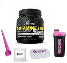 Olimp Glutamin 1400 59,62€/kg Glutamine Mega Caps 300 Kapseln gratis Bonus