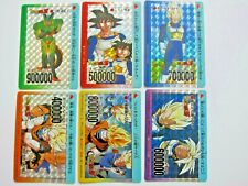 DRAGON BALL Z HEROES COLLECTION PART UMP-30 /& 31 PRISM CARDS SET MADE IN JAPAN