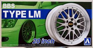 Aoshima 052754 Felgen BBS LM 20 Zoll inkl. Reifen 1:24 # 25