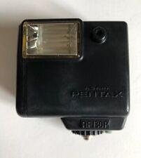 ASAHI PENTAX AF130P FLASH UNIT For 110 System Camera Screw Mount VGC Black 130