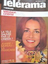 1305 JEANNE MOREAU PIERRE FRESNAY BURT LANCASTER COMEDIE MUSICALE TELERAMA 1975